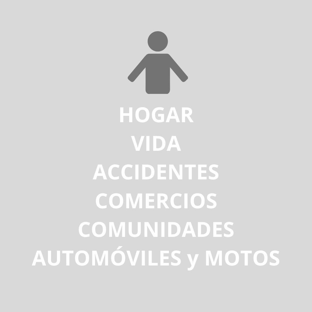 Hogar, automóvil, accidentes y vida